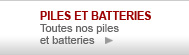 piles et batteries