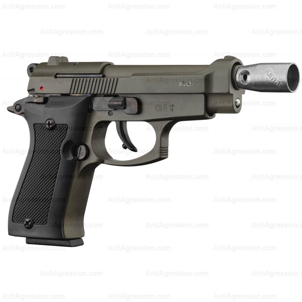 """Pistolet type """"Beretta 85"""" GREEN cal. 9mm"""
