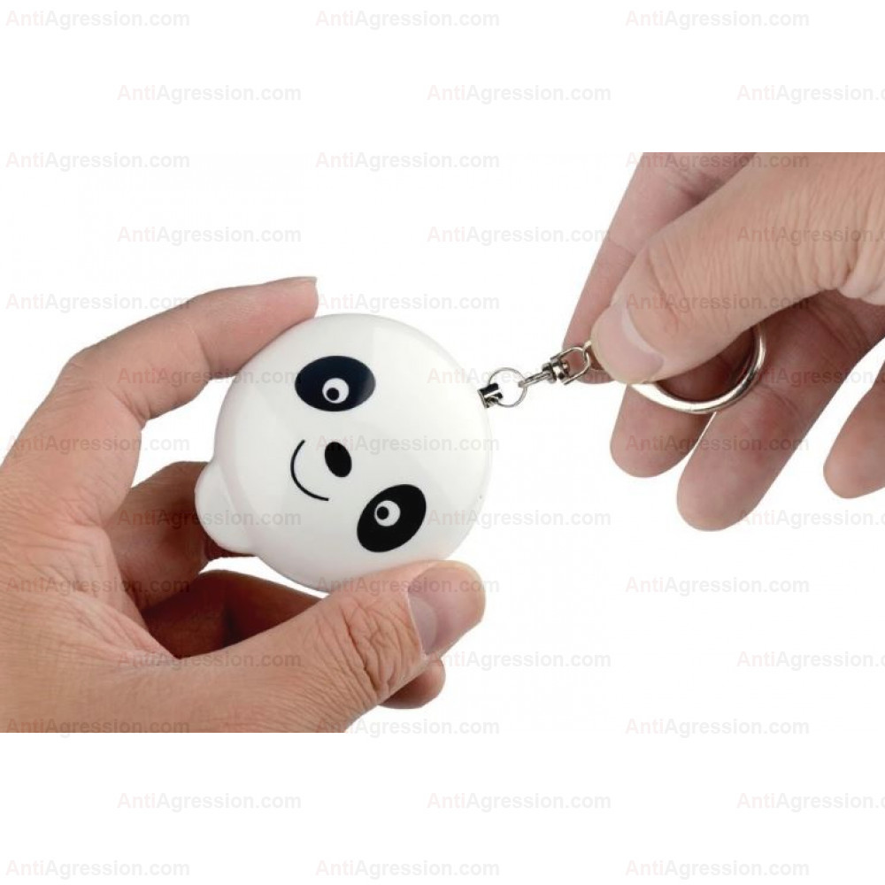 Alarme de défense Panda blanc