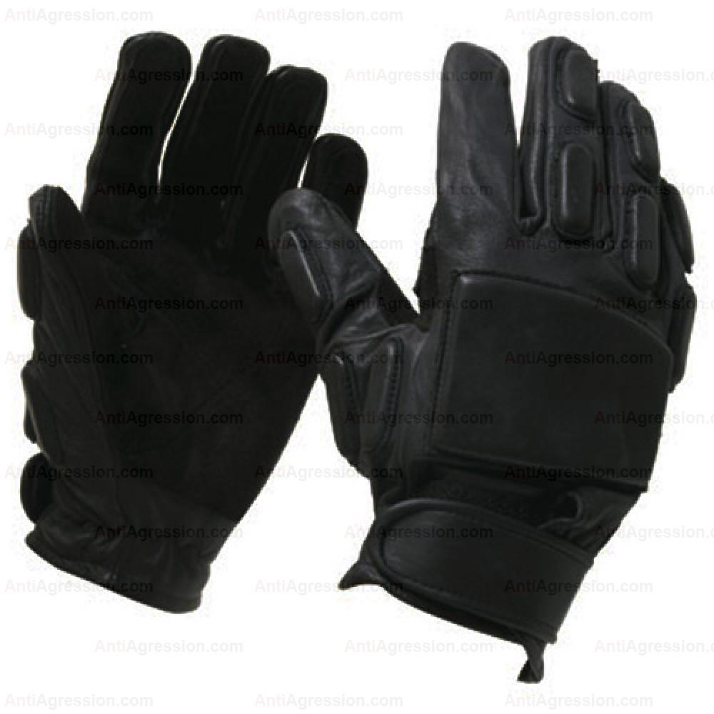 Gants SWAT intervention cuir