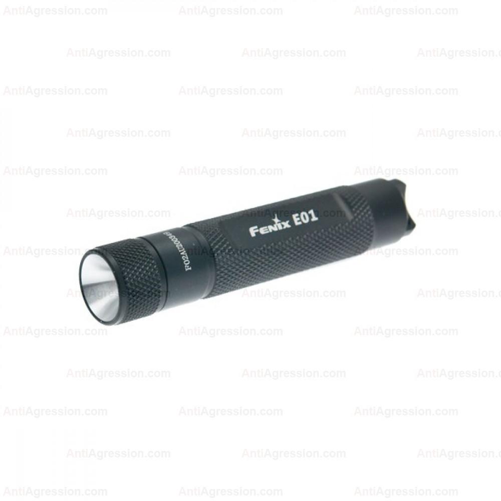 Lampe de poche Fenix E01 Noire