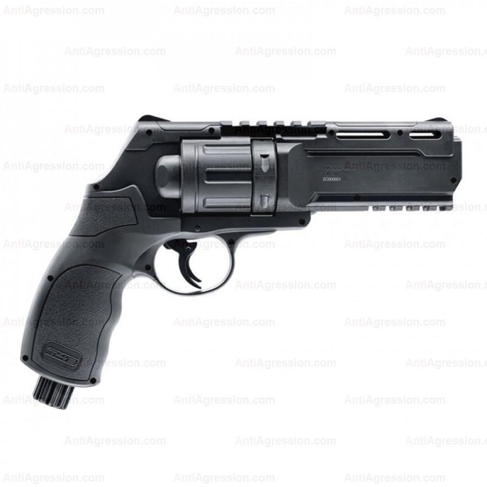 MEGA Pack Revolver de Défense Walther T4E HDR 50 Umarex CO2 11 Joules Calibre 50