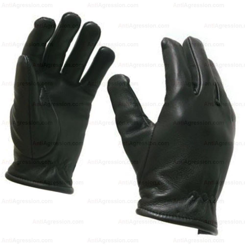 Gants d'intervention et de sécurité cuir