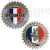 Médaille ronde - Modèle Maître-chien et Sécurité