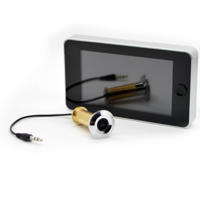 Judas électronique de porte avec écran 4.3 pouces (11cm)
