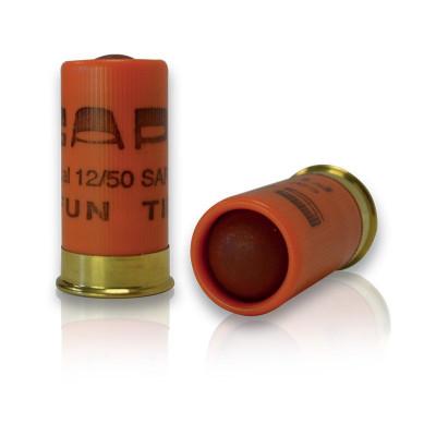 10 CARTOUCHES FUN TIR BALLE Cal. 12/50 mm