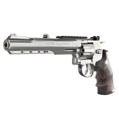 Revolver Ruger Superhawk 8'' chromé cal. 6 mm