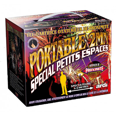 Feux d'artifice Kit de jardin 2 min