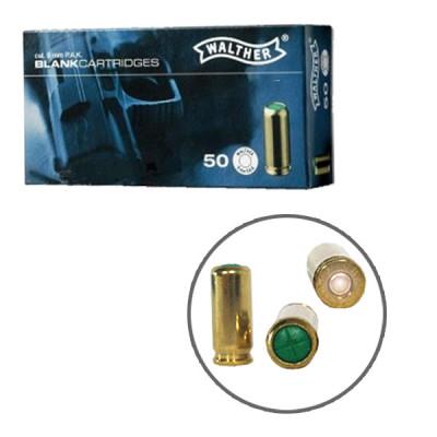 50 cartouches à blanc UMAREX pour pistolet cal.9mm