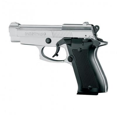 """Pistolet type """"Beretta 85"""" chrome cal. 9mm"""