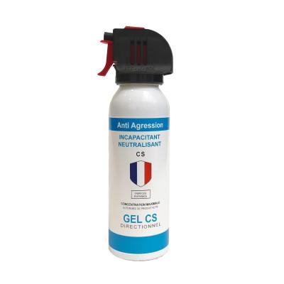 Bombe lacrymogène gel 100ml - tête accusol