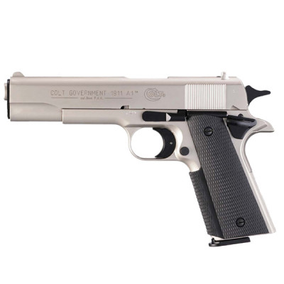 Pistolet Colt Government 1911 A1 Chromé cal. 9 mm UMAREX