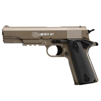 Pistolet à Billes Colt M1911 A1 TAN Cybergun SPRING 0,7j cal. 6mm