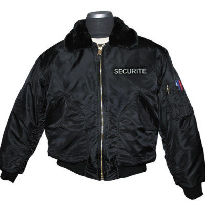 Blouson intervention style bombers transformable