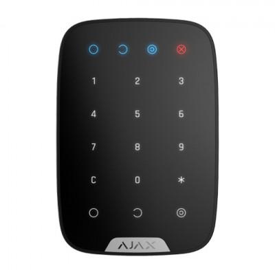 Clavier numérique sans fil utilisé pour armer/désarmer le système de sécurité Ajax - Noir