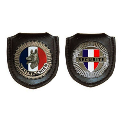 Porte insigne - Modèle maître-chien et sécurité