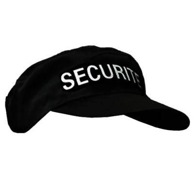 Casquette Platinium brodée sécurité