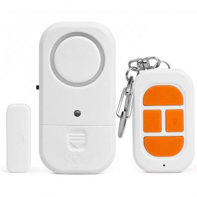 Alarme de porte et fenêtre, avec capteur à distance sans fil + télécommande