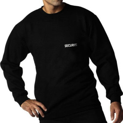 Sweat-shirt brodé sécurité