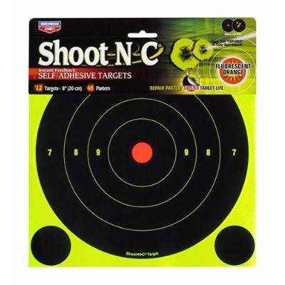 6 cibles Shoot N C fluorescentes