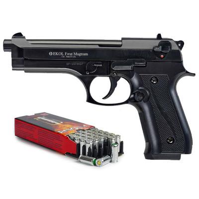 "Kit défense EKOL type ""Beretta 92 F""  Noir cal. 9mm"