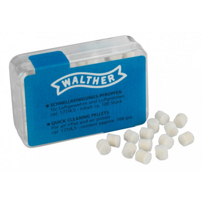 100 Tampons nettoyage rapide Walther